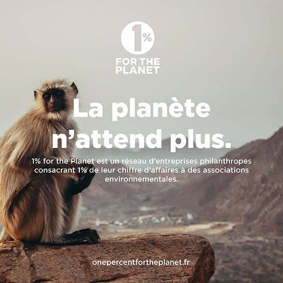 1% for the Planet, La planète n'attend plus.